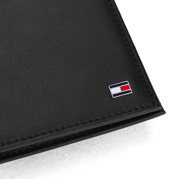 Tommy Hilfiger Men/'s Eton Card Holder Black