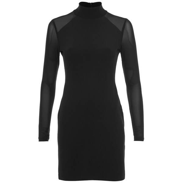 Ash Women's Ratio Bodycon Dress - Black