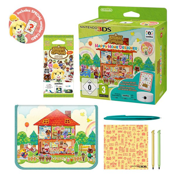Animal crossing happy home designer nfc reader writer - Happy home designer amiibo figures ...