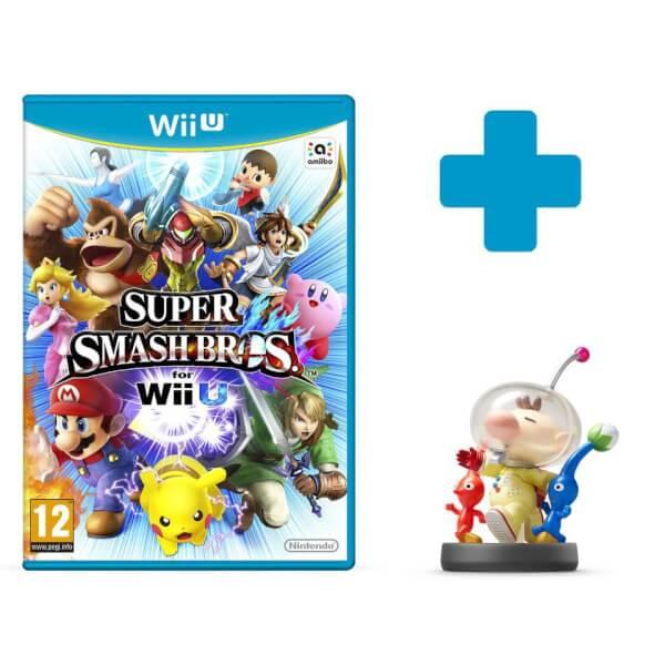 Super Smash Bros. for Wii U + Olimar No.44 amiibo
