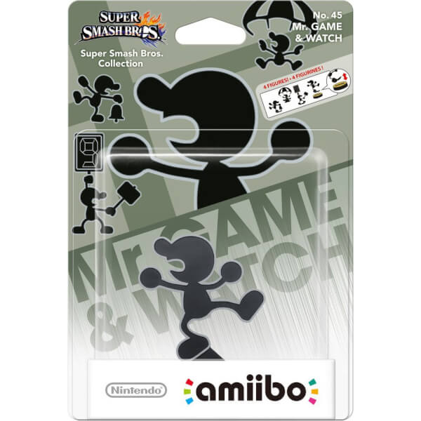 Mr. Game & Watch No.45 amiibo