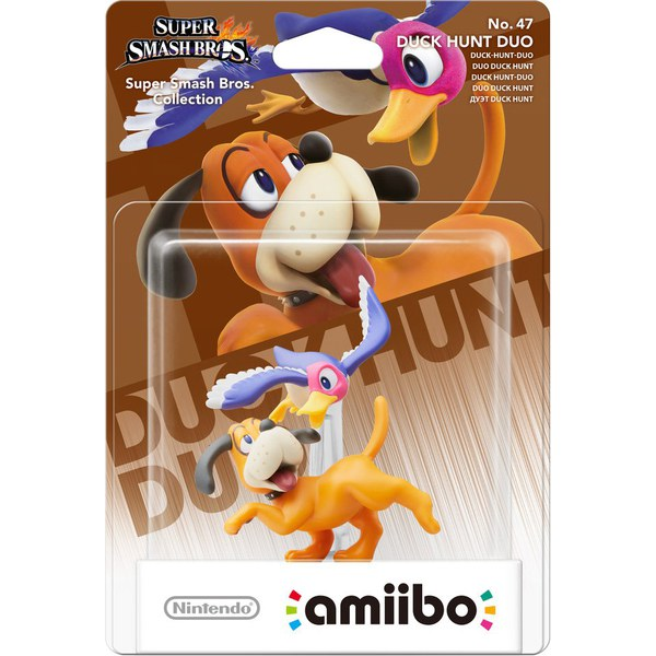 Duck Hunt Duo No 47 Amiibo Nintendo Uk Store