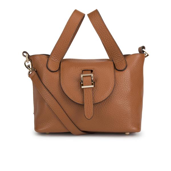 meli melo Mini Thela Tote Bag - Tan