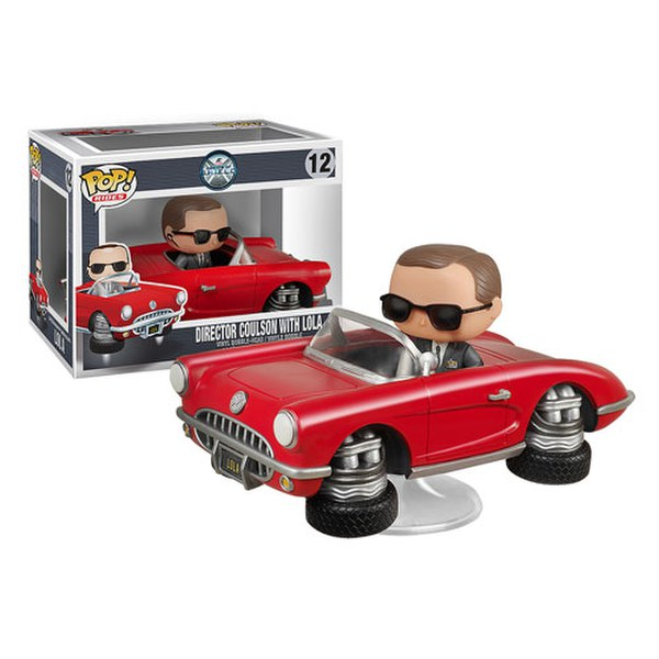 Agents of S.H.I.E.L.D.  Director Coulson with Lola Pop Vinyl Figure