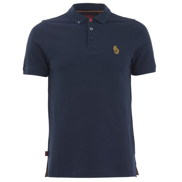 Luke 1977 men 39 s williams polo shirt navy clothing for Luke donald polo shirts