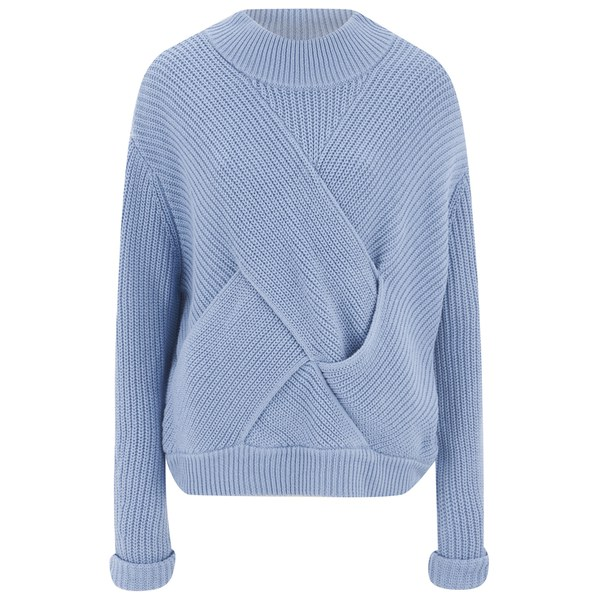 C/MEO COLLECTIVE Women's Shake it Off Jumper - Sky Blue