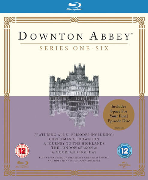 Downton Abbey - Series 1-6