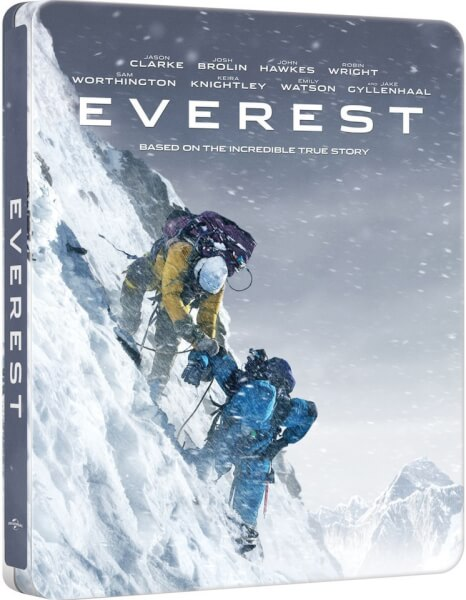 Everest - Zavvi Exclusive Limited Edition Steelbook (UK EDITION)