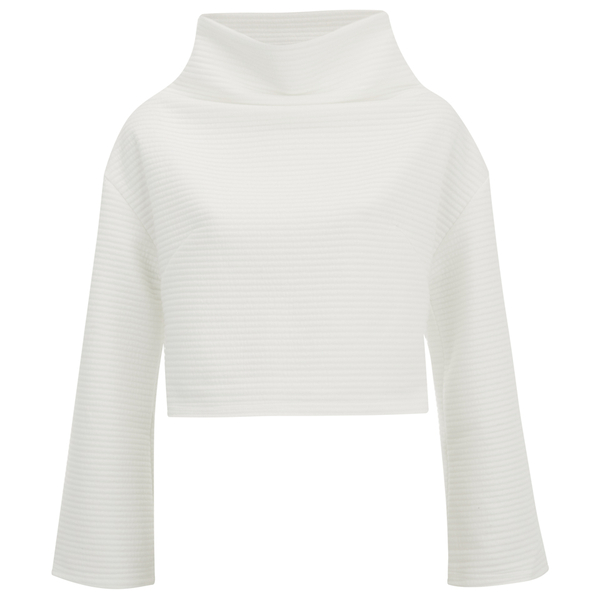 The Fifth Label Women's Watchtower Long Sleeve Sweatshirt - White