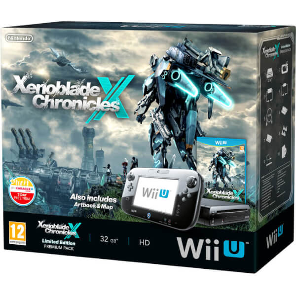 Xenoblade Chronicles X Wii U Premium Pack