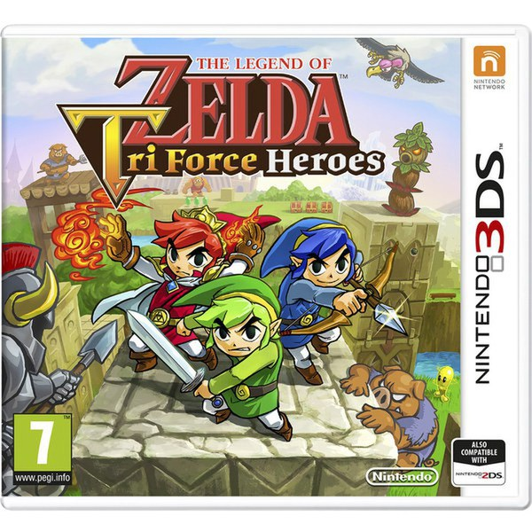 The Legend of Zelda: Tri-Force Heroes - Digital Download