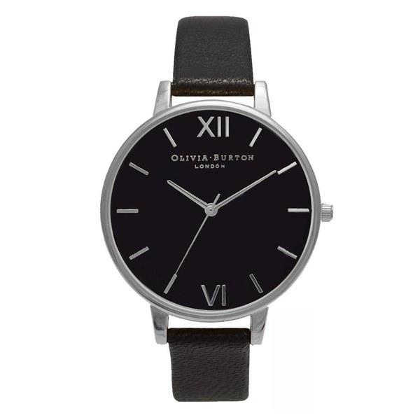 Olivia Burton Women's Midi Chrono Detail Watch - Black/Silver