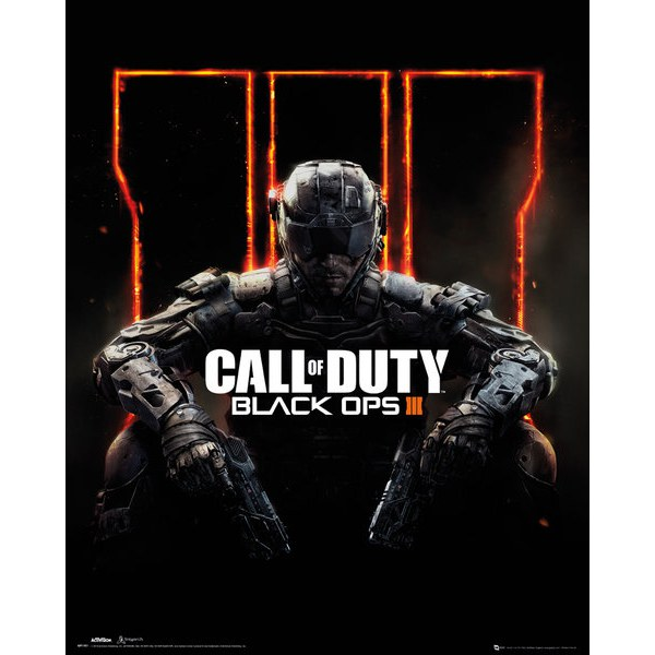 Call of Duty: Black Ops 3 Cover - 16 x 20 Inches Mini Poster