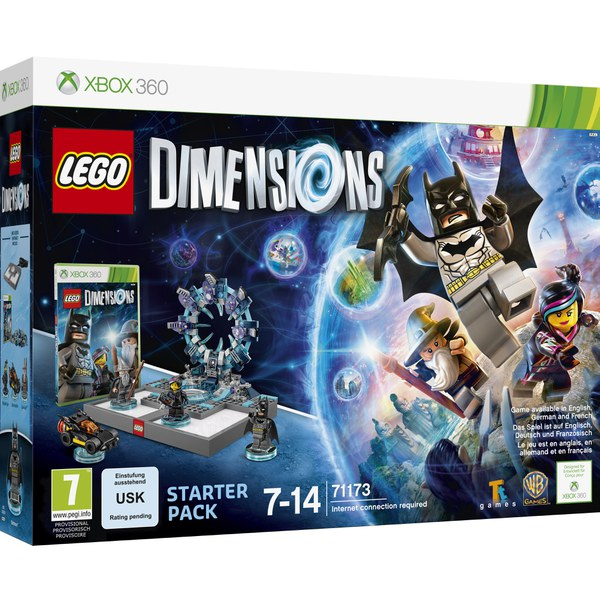 lego dimensions xbox 360 starter pack xbox 360. Black Bedroom Furniture Sets. Home Design Ideas