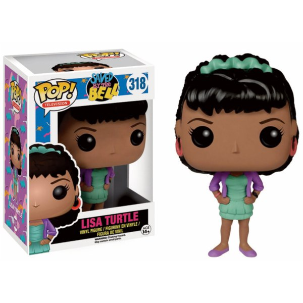 Saved By The Bell Lisa Turtle Pop! Vinyl Figure