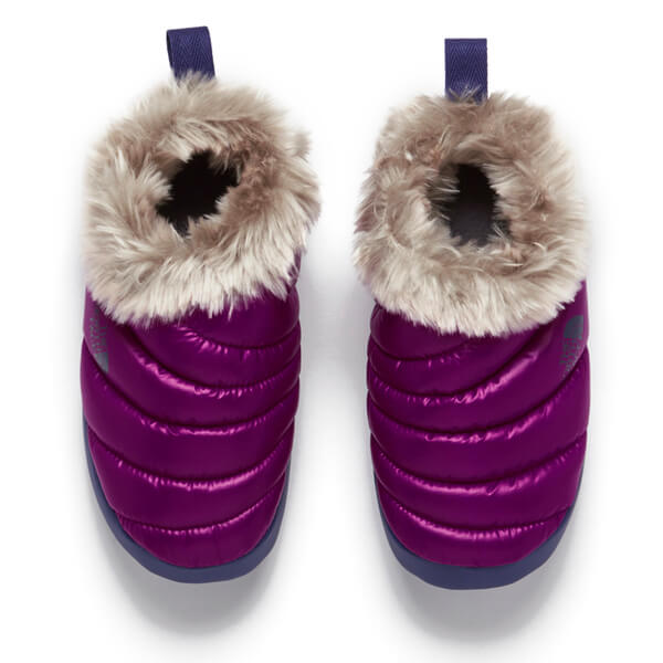 The North Face Womenu0027s Tent Mule Faux Fur Slippers - Shiny Radiance Purple/Astral Aura  sc 1 st  The Hut & The North Face Womenu0027s Tent Mule Faux Fur Slippers - Shiny ...