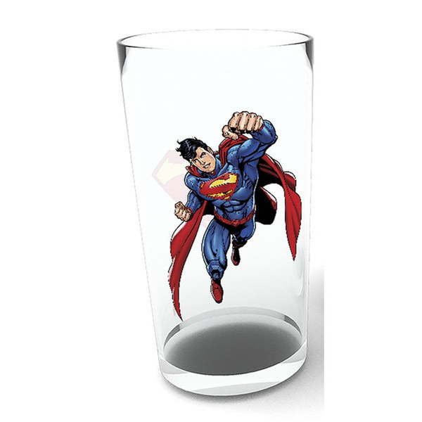 DC Comics Superman Sketch - Pint Glass