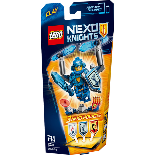 LEGO Nexo Knights: Ultimate Clay (70330)
