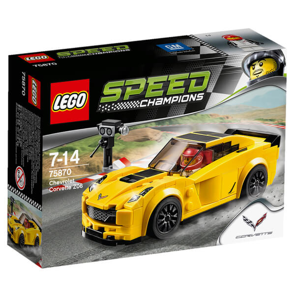 LEGO Speed Champions: Chevrolet Corvette Z06 (75870)