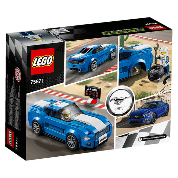 lego speed champions ford mustang gt 75871 toys zavvi. Black Bedroom Furniture Sets. Home Design Ideas