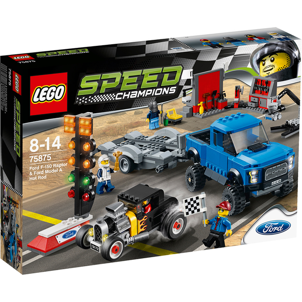 LEGO Speed Champions: Ford F-150 Raptor et le bolide Ford Modèle A (75875)