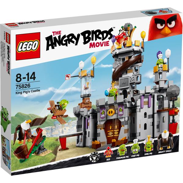 LEGO Angry Birds: Le château du Roi Cochon (75826)