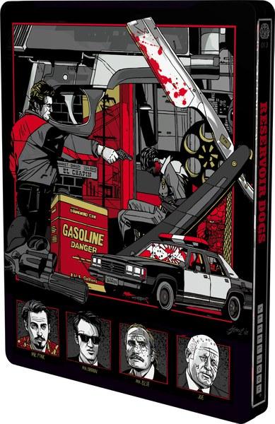 Reservoir Dogs Mondo X Steelbook Uk Exclusive Limited