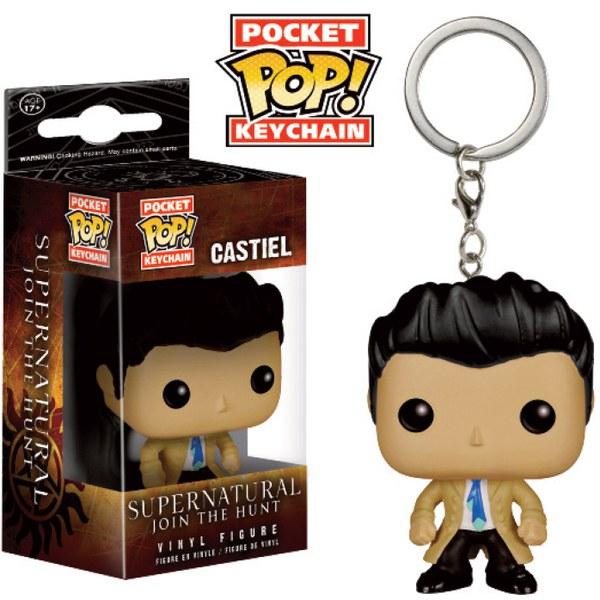 Supernatural Castiel Porte-clés Funko Pop!
