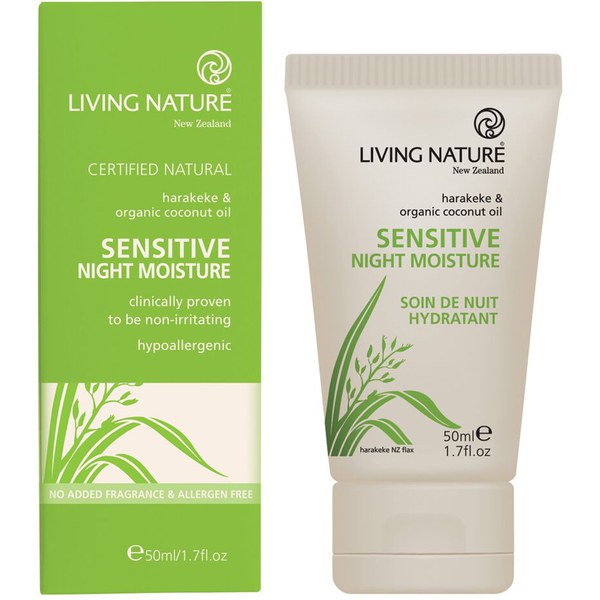 Living Nature Sensitive Night Cream (50 ml)