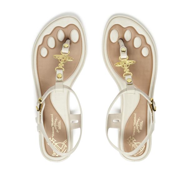 4c561713ca50a4 Vivienne Westwood For Melissa Women s Solar 21 Toe Post Sandals - White  Contrast  Image 2