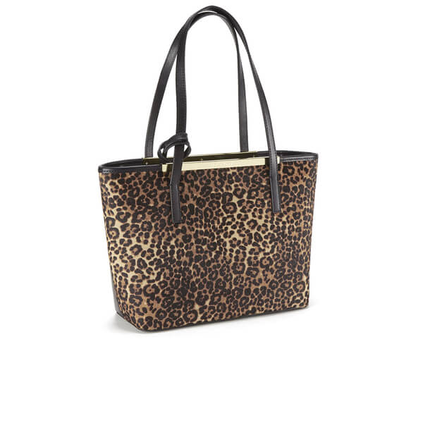 aedbc399b5 Ted Baker Women's Jenny Exotic Front Crosshatch Small Shopper Bag - Tan:  Image 2