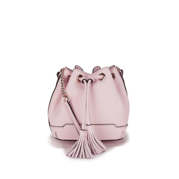 Rebecca Minkoff Women's Micro Lexi Bucket Bag - Baby Pink