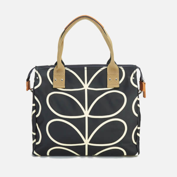 4d25d2d2205 Orla Kiely Women s Zip Messenger Bag - Black  Image 5