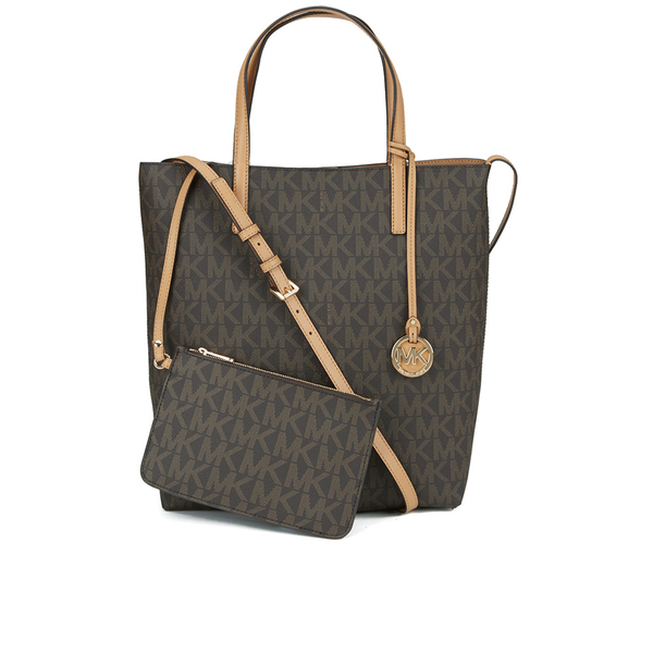 0ef470e0a93e41 MICHAEL MICHAEL KORS Women's Hayley Tote Bag - Brown: Image 1