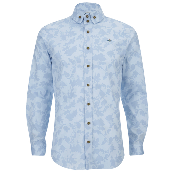 Vivienne westwood man men 39 s printed roses oxford two for T shirt printing oxford