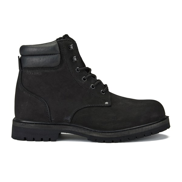 Mens jack jones boots black