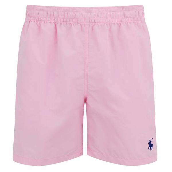 0fe6b02ef2401 ... usa polo ralph lauren mens hawaiian swim shorts carmel pink image 1  3893d ffaf4