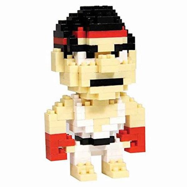 Streetfighter Pixel Bricks - Ryu