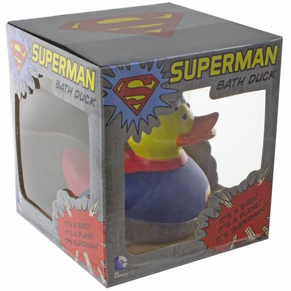Superman Bathroom Decor: DC Comics Superman Bath Duck