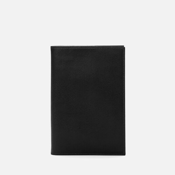 Aspinal of London Men's Refillable Journal A5 - Black