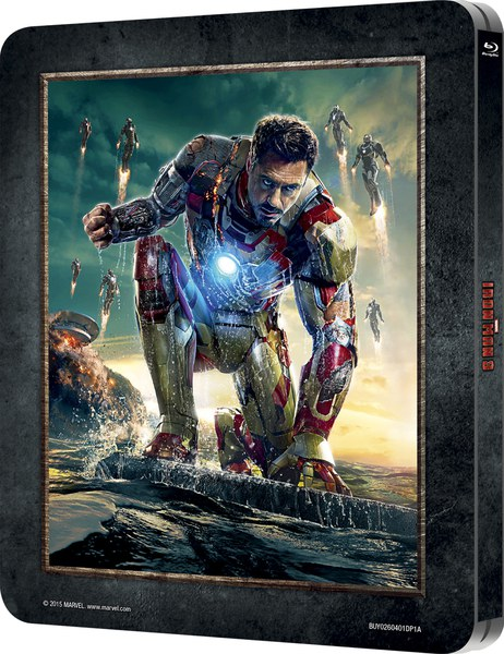 iron man 3 3d includes 2d version zavvi exclusive
