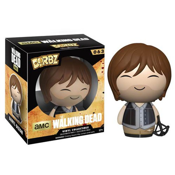 The Walking Dead Daryl Dorbz Action Figure