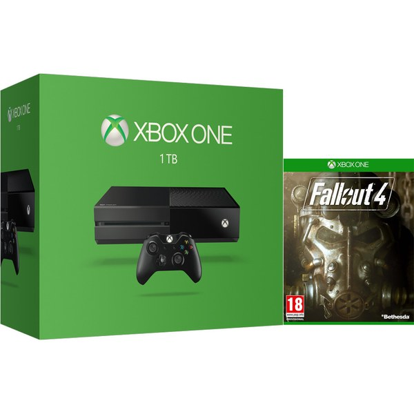 Xbox one 1tb console fallout 4 games consoles - What consoles will fallout 4 be on ...