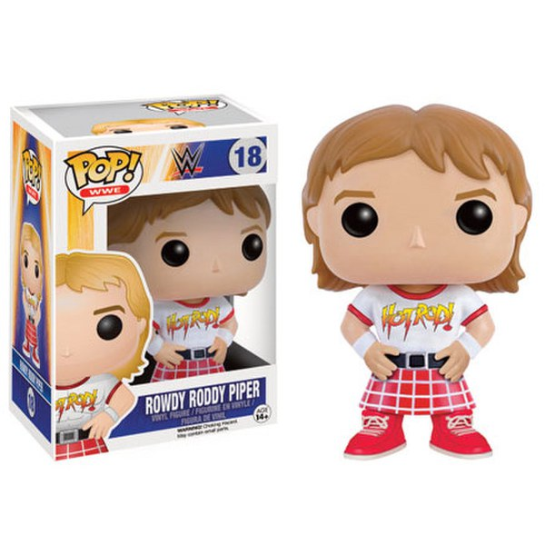 WWE Rowdy Roddy Piper Limited Edition Pop! Vinyl Figure