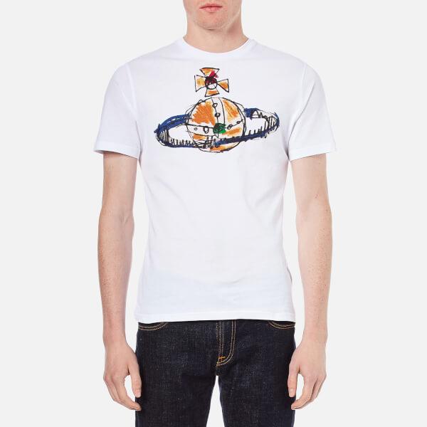 Vivienne Westwood MAN Men's Orb Logo T-Shirt - White