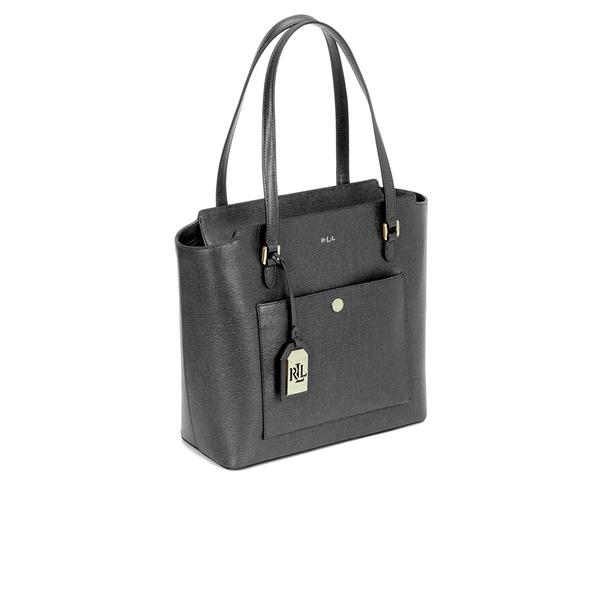 e171c08ada38 Lauren Ralph Lauren Women s Newbury Modern Pocket Tote - Black  Image 2