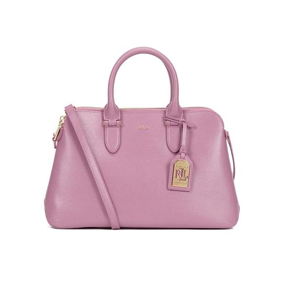 1458835719 Lauren Ralph Lauren Women s Newbury Double Zip Dome Bag - Deco Rose  Image 1