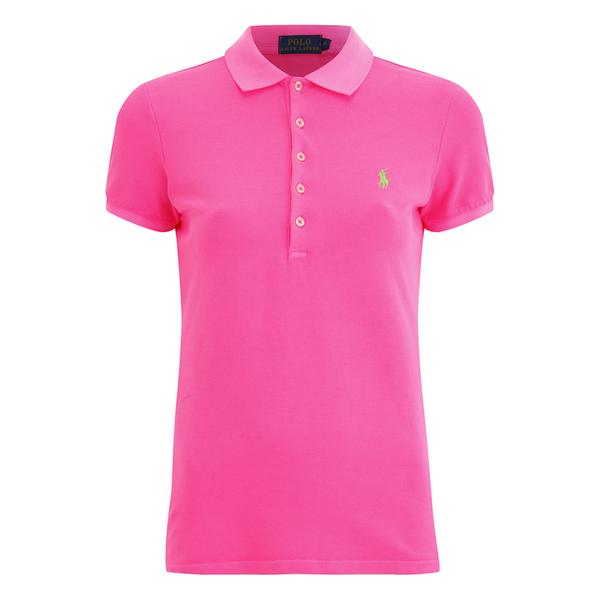 Polo Ralph Lauren Women's Julie Polo T-Shirt - Fuchsia
