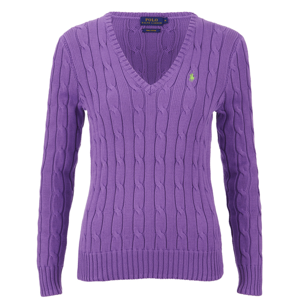Polo Ralph Lauren Women's Kimberly Jumper - Laguna Purple