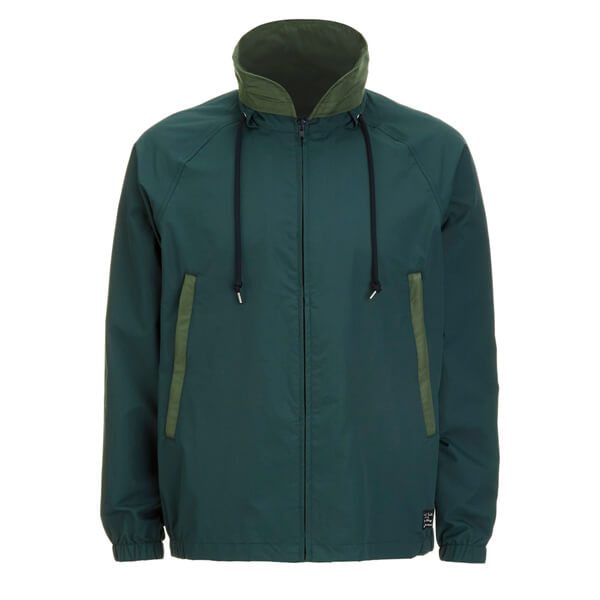 Paul Smith Jeans Men's Technical Hooded Jacket - Green